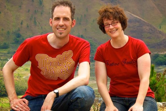 Claudio und Sonja in Sumatra 2014