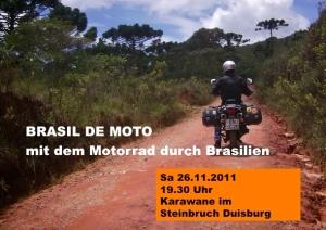 Brasil de moto Karawane