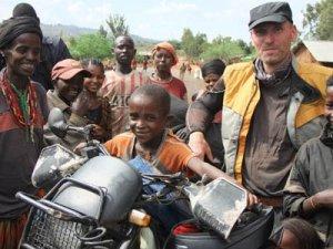 Manfred Hoffmann in Äthiopien