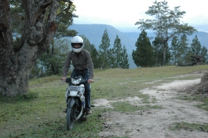 Motorradfahren in Sumatra