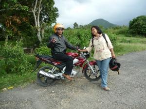 Bikerpfarrer und -pfarrerin