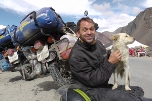 Bruno in Ladakh