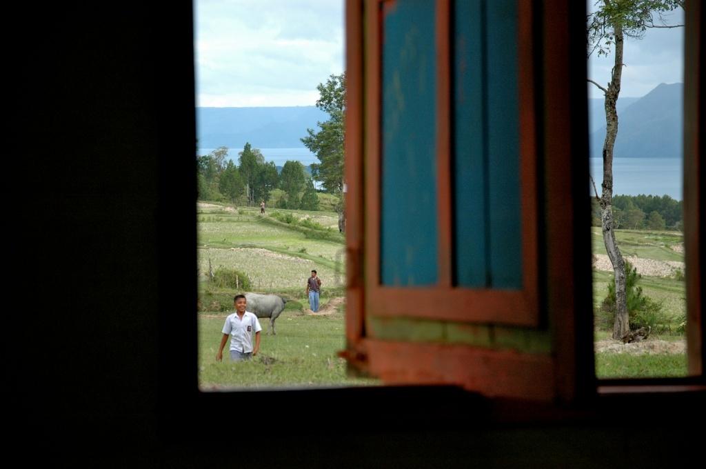 offenes Fenster Sumatra