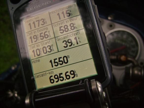 eTreX GPS