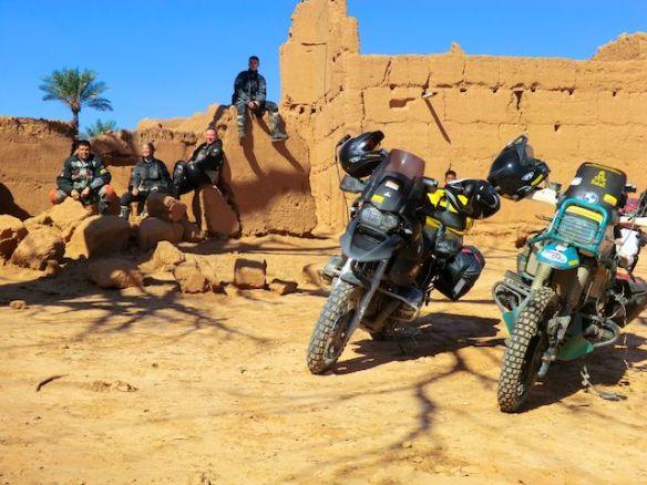 Dunehoppers in Marokko