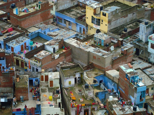 Enge Gassen in Indien