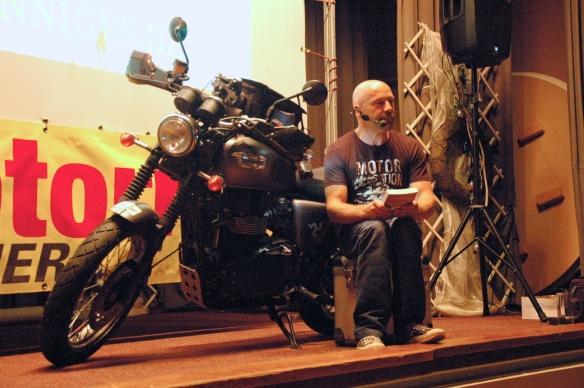 Rolf liest beim MRT 2013