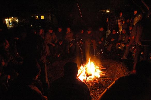 AufSpur  Lagerfeuer