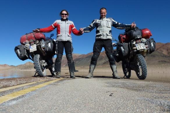 Anke und Georg in Südamerika