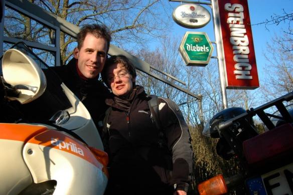 Vorm Cafe Steinbruch 2011