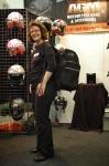 AGM Motorradtasche als Rucksack