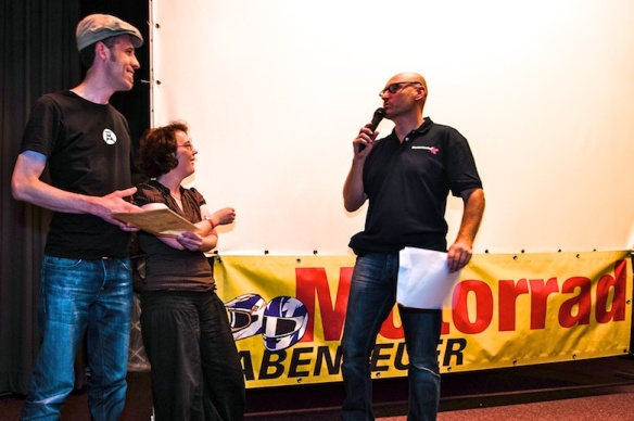 Manfred Hoffmann übergibt den MRT - Förderpreis 2013