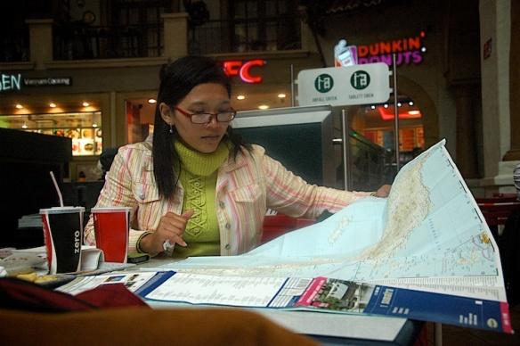 Mery und die Sumatra-Landkarte