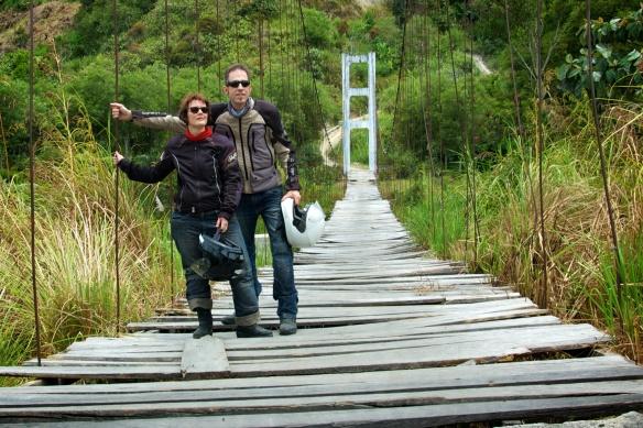 Sonja und Claudio in Sumatra
