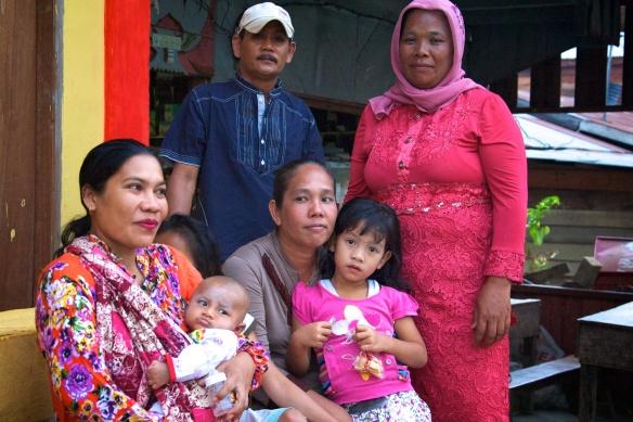 unser Gastgeber Gaul und Familie