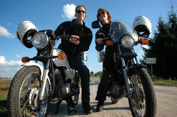 Claudio und Sonja in Polen